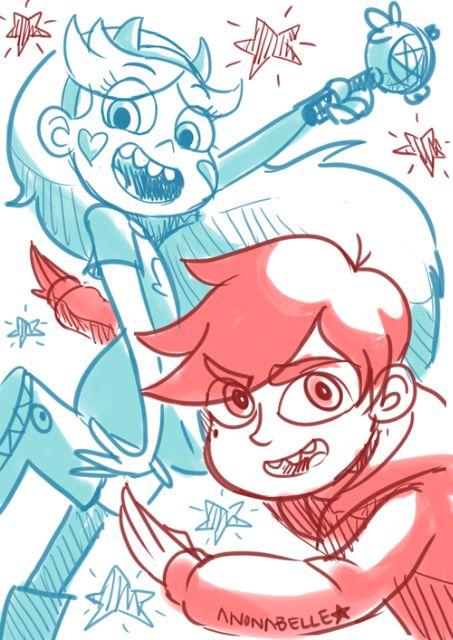 Siempre a Tu Lado,Star y Marco son los mejores amigos del mundo ...