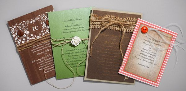 17 Best images about wedding invitations – Scrapbooking Wedding Invitation Ideas