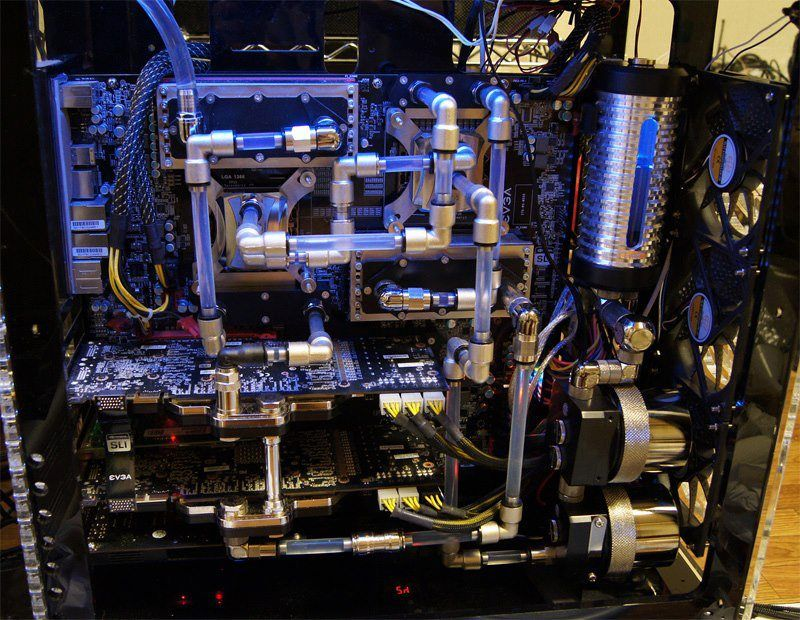 Hardline Liquid Cooling Google Search Pc Inspiration
