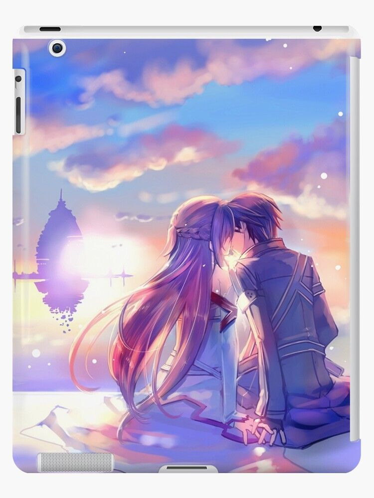 Best couple Asuna and Kirito iPad Case & Skin