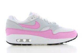 Air Max 1 Wit/Roze Dames | Air max 1, Air max, Witte rozen