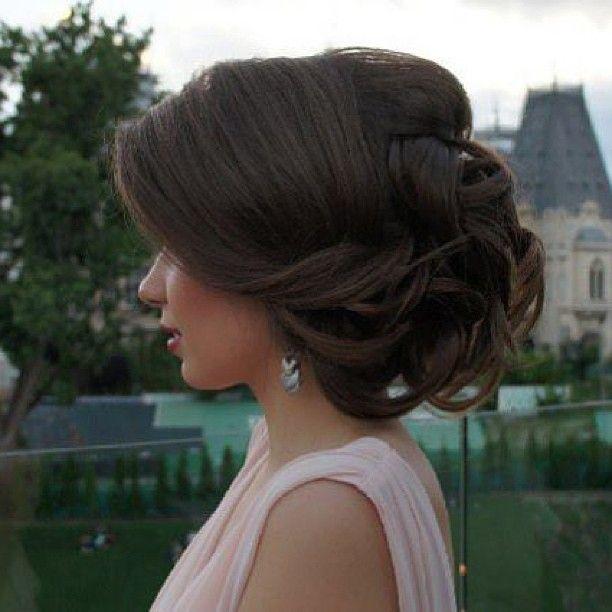 Wedding Hairstyles Fringe: Side Fringe, Waves, Updo