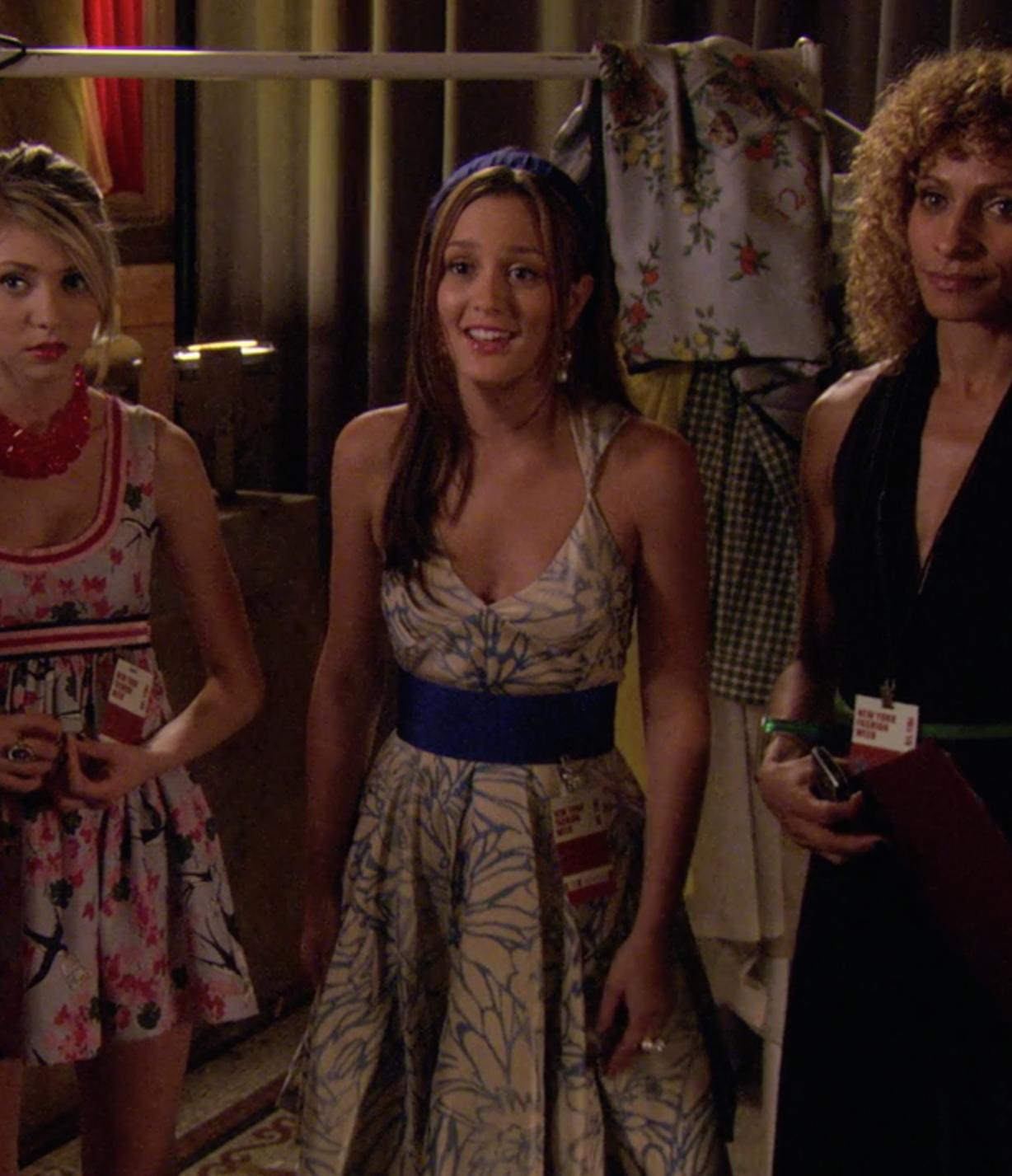 L vide son dressing  |Blair Waldorf Hair Season 2