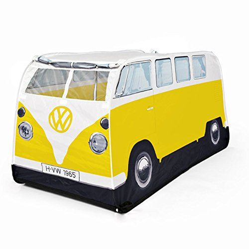 Amazon.com: VW Camper Van Pop Up Play Tent for Kids- Pink: Toys & Games