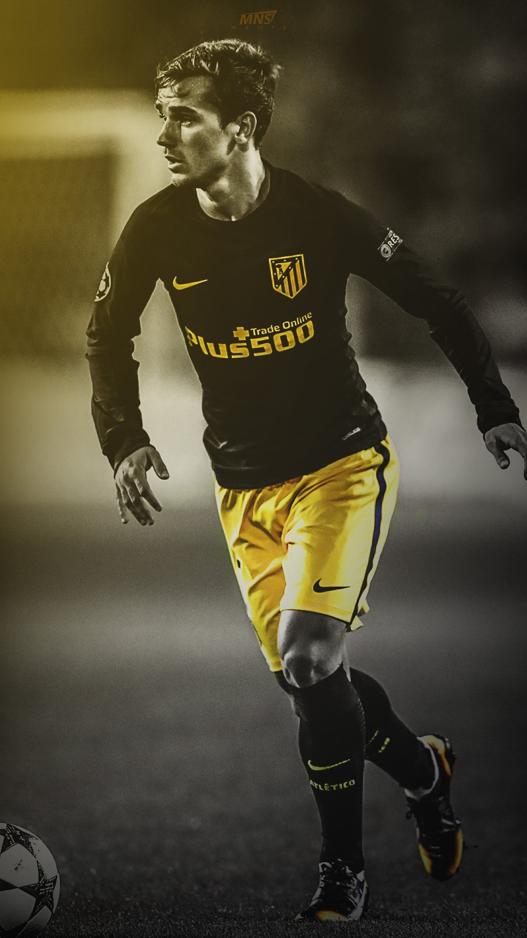 Antoine griezmann atletico madrid world soccer pinterest antoine griezmann atletico madrid voltagebd Image collections