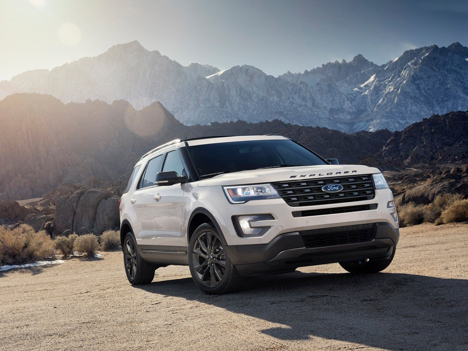 2017 Ford Explorer Xlt Sport Appearance Package Muscle Cars Pickup