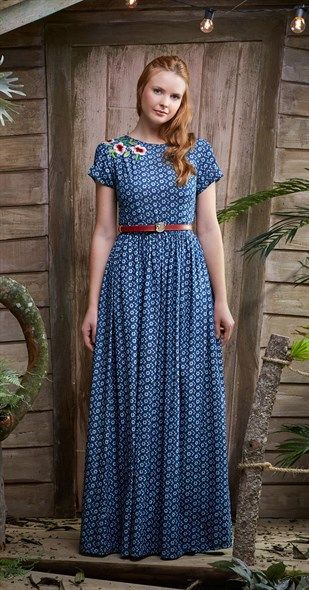 040bf5a6bb6e Vestido Longo Amor Perfeito   My Style   Moda evangelica vestidos ...