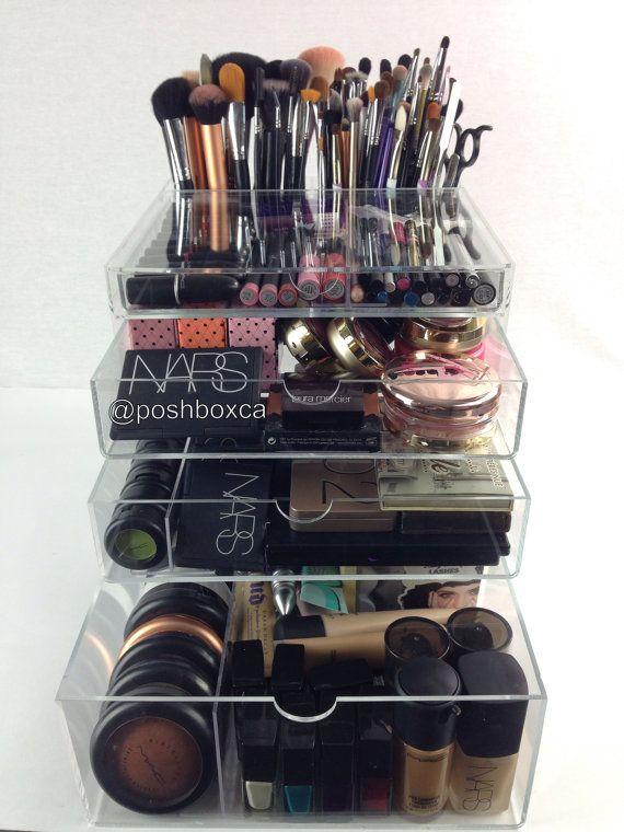Pin By Jennifer Miranda Arruda On Makeup And Etc Makeup Organization Makeup Storage Best Makeup Products