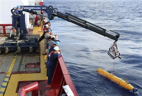 Bluefin submarine searches for remnants of MH370