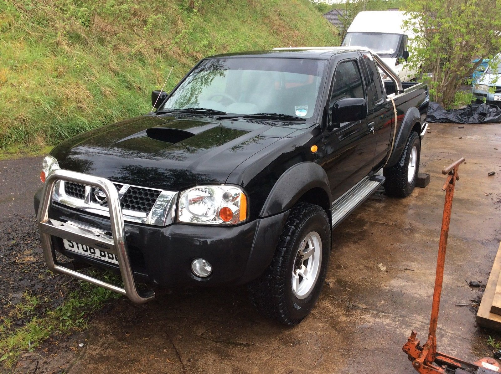 nissan navara d22 spares or repair 1 picclick. Black Bedroom Furniture Sets. Home Design Ideas