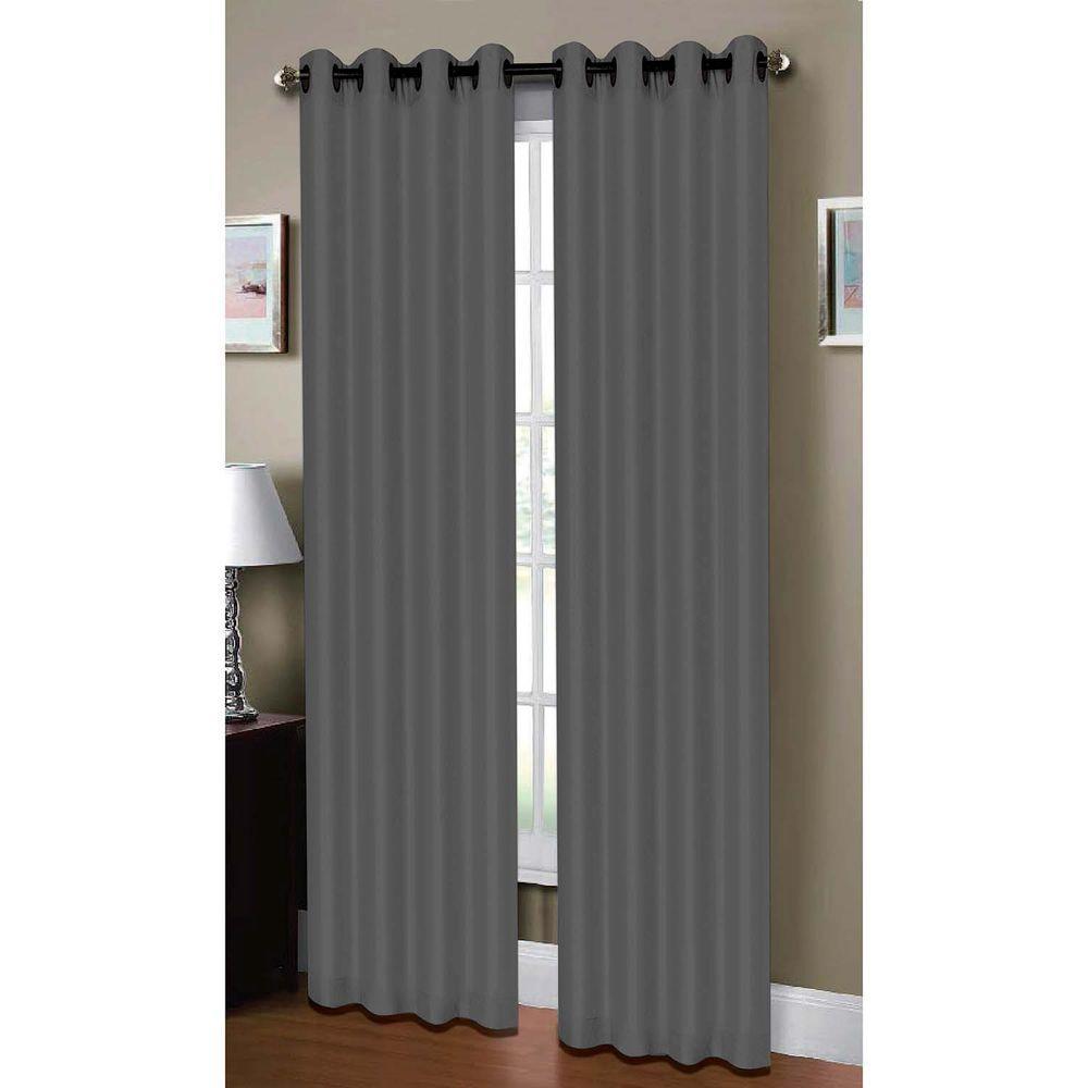 Window Elements Semi Opaque Raphael Heathered Faux Linen Extra