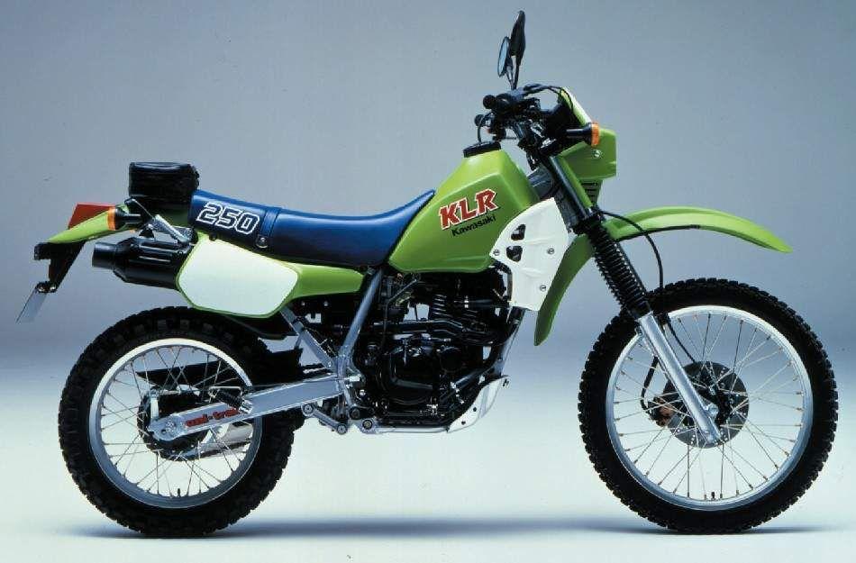 KLR 250, 19841985 Kawasaki, Motorcycle travel