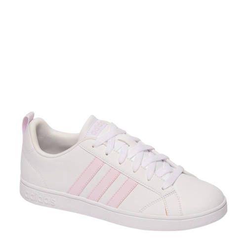 VS Advantage sneakers wit/roze - Adidas originals, Witte ...