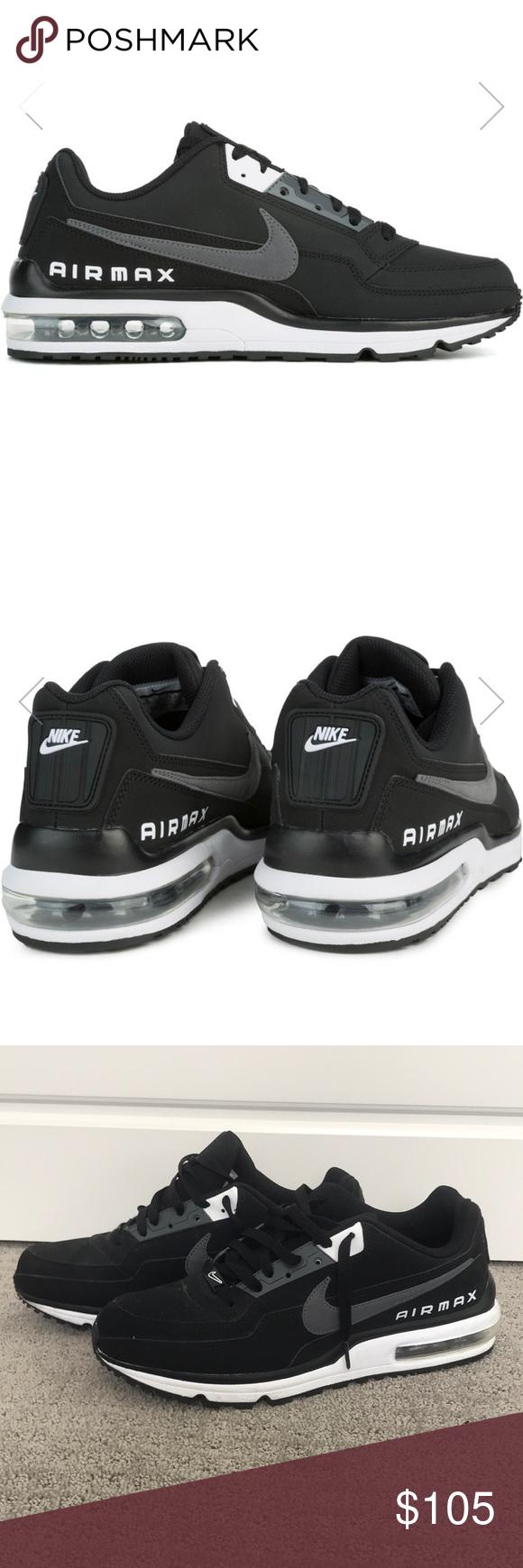 Nike Air Max LTD 3 These black white dark grey Nike Air