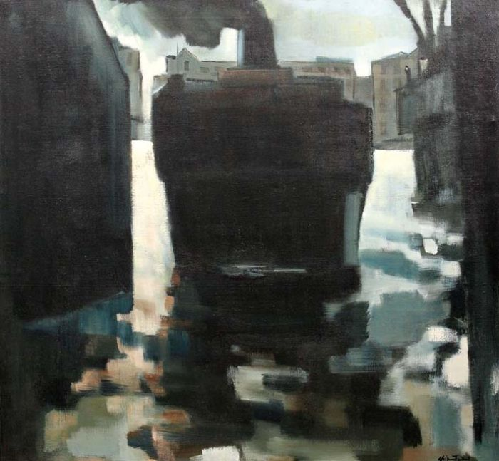 William Turner - The Tug Boat