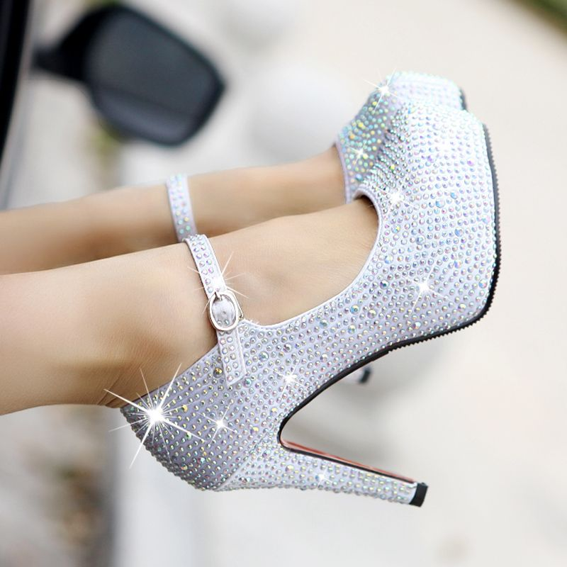 Pin By Asia Taylor On Shoes Silver Wedding Shoes Coloured Wedding Shoes Womens Fashion Shoes