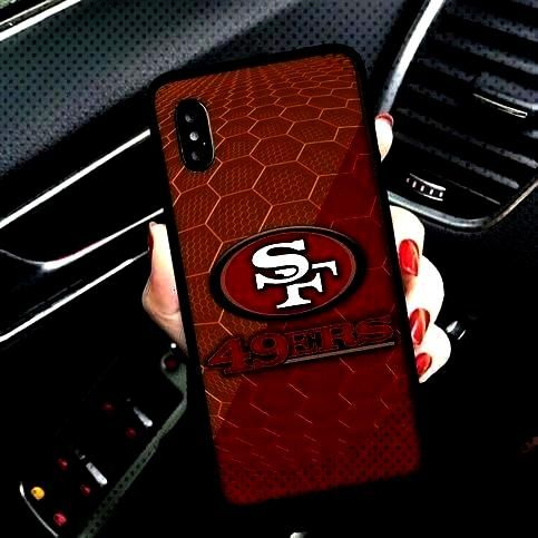 NFL Honeycomb Hard Cover Case Fit For iPhone 5 6 6s 7 7+ 8 8+ X XR XS 11 Pro Max Samsung S7 S8 S9 E
