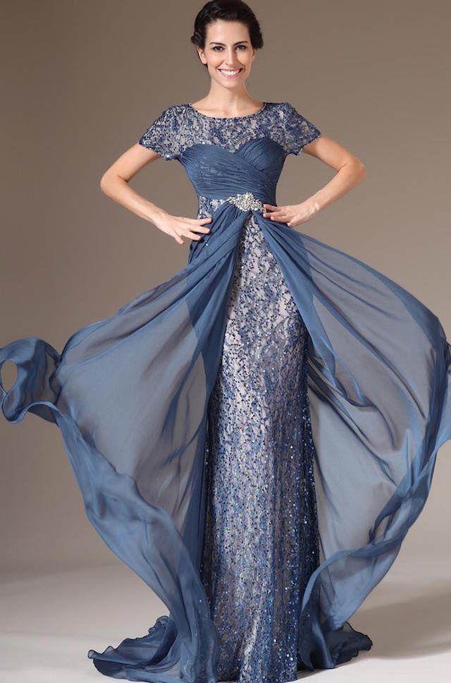 Vestido madrina moderno