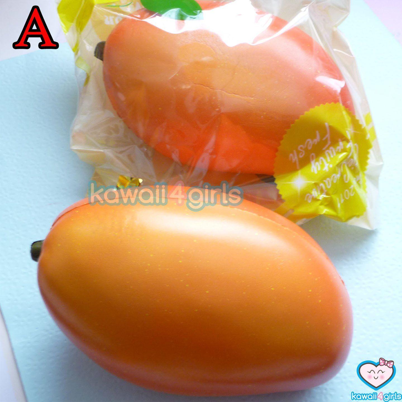 CutieCreative Mango Squishy