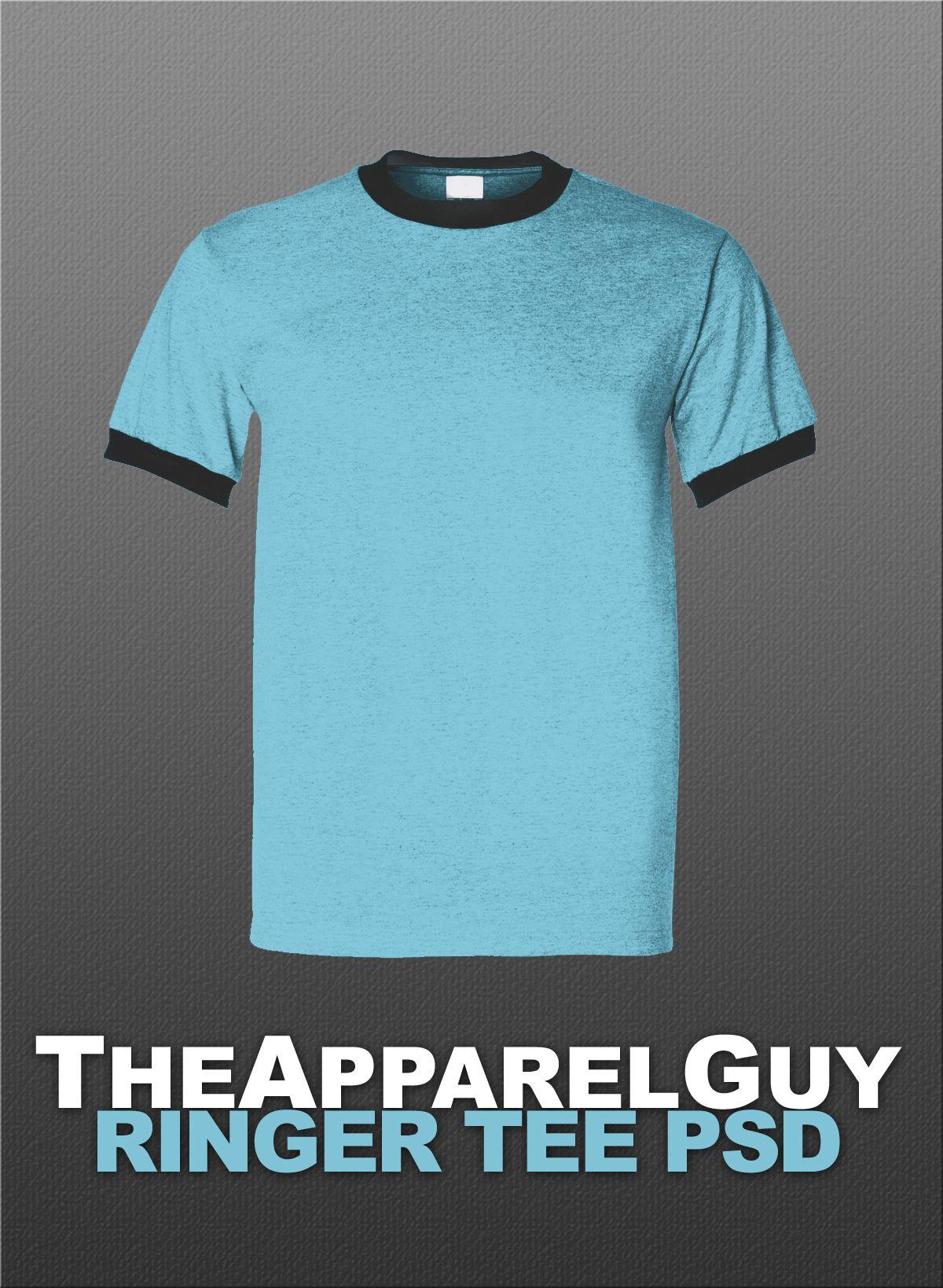 Ringer Tee Psd By Theapparelguy Deviantart Com On Deviantart Shirt Template Ringer Tee Custom Tshirt Design T shirt template for photoshop