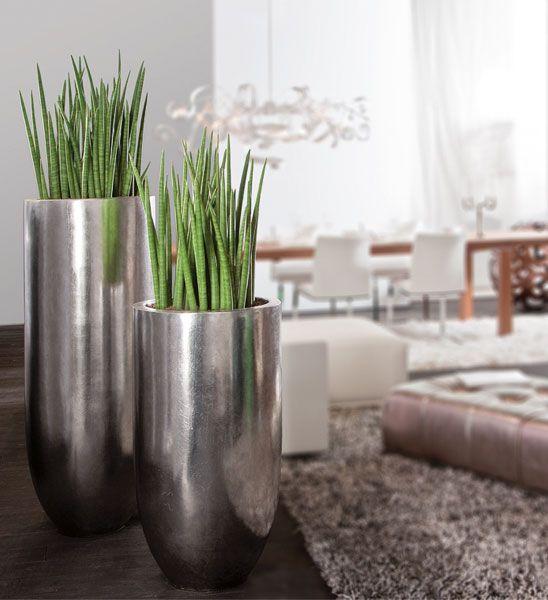 Bodenvase silber PANDORA | im Greenbop Online Shop kaufen