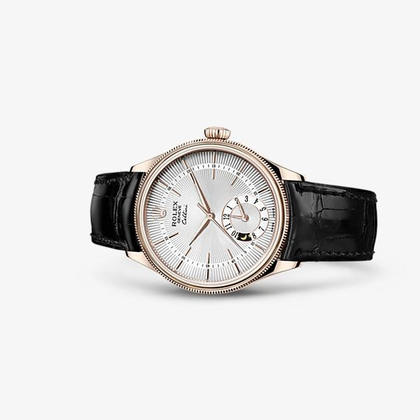 Discover the Cellini Dual Time watch in 18 ct Everose gold on the Official Rolex Website. Model: 50525