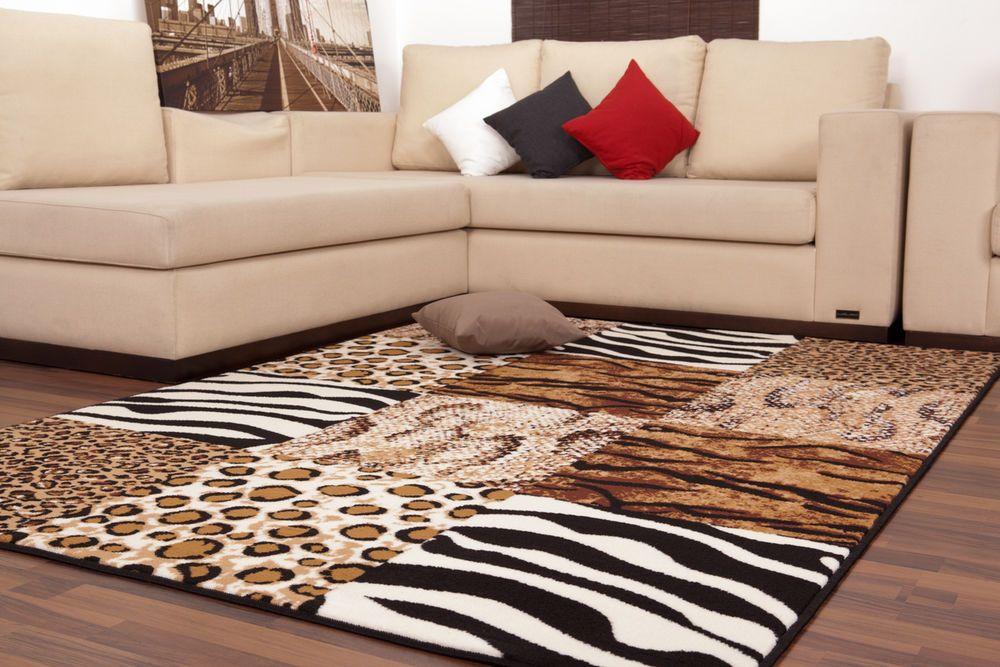 Teppich fußbodenteppich modern design usa chicago beige 190cmx280cm