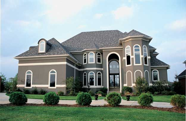 House Plans Home Plans And Floor Plans From Ultimate Plans Stucco House Colors Exterior House Colors Stucco Homes