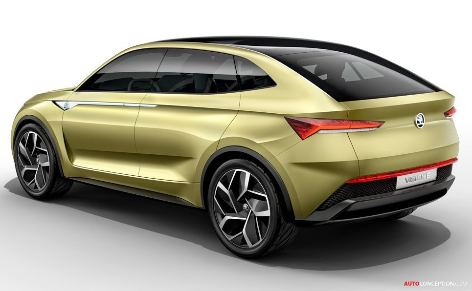 Skoda Vision E Electric Concept Car Unveiled In Shanghai