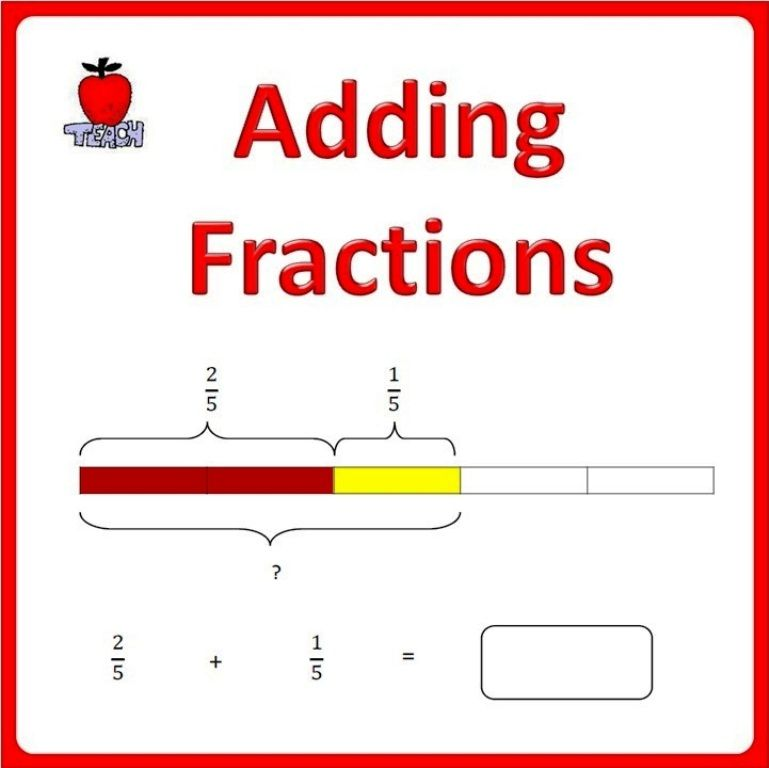 Adding Fractions 4th Grade 5th Grade Fractions Worksheets Adding Fractions Math Fractions Adding fractions using models worksheets