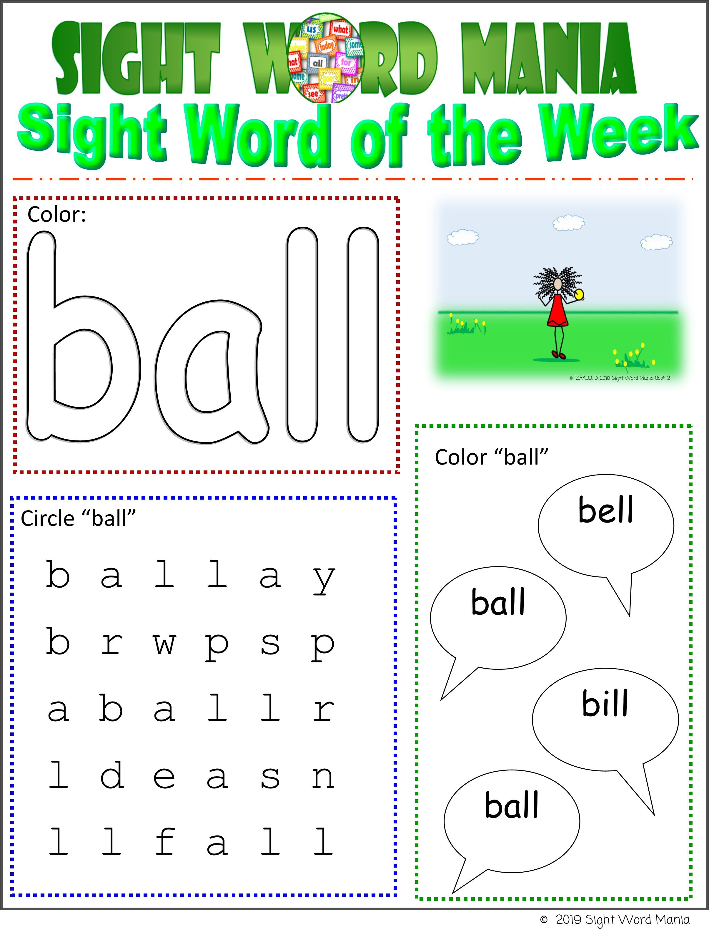 This Bright Colorful Printable Is A Great Tool To Engage