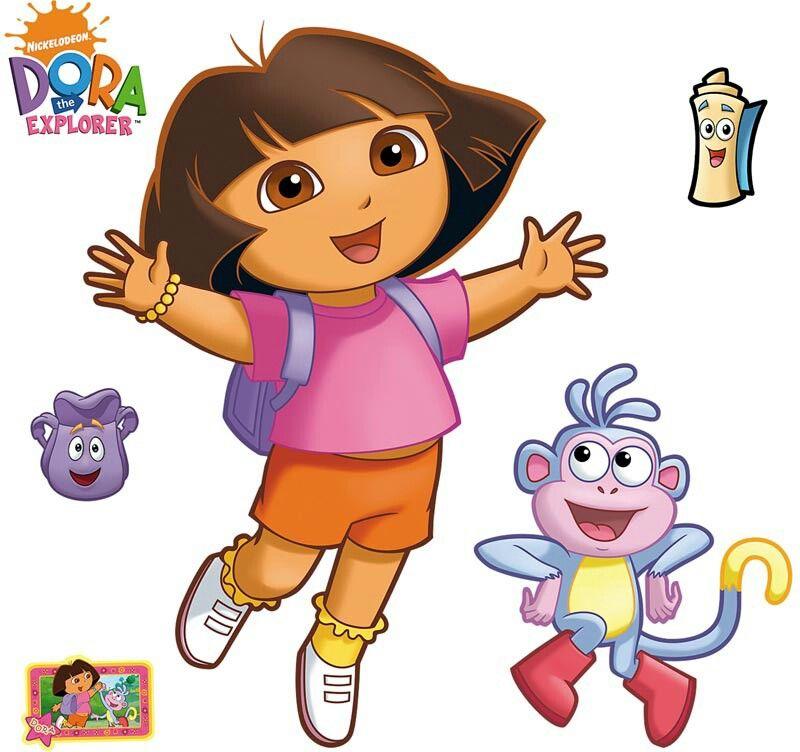 Dora explorer dora la exploradora 4 a os pinterest for Dora the explorer wall mural