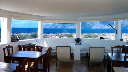Casa Dominique the panoramic breakfast room, lanzarote
