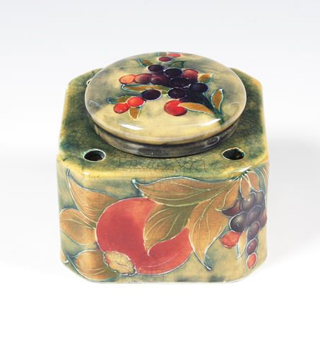 Moorcroft Inkwell made for Liberty