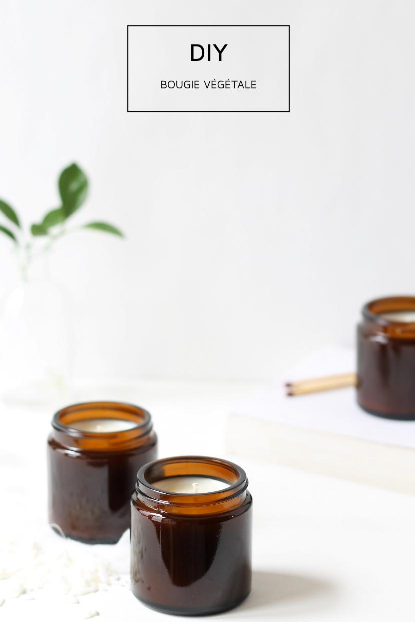 diy- bougie en cire de soja eco-friendlynote suave. | creation