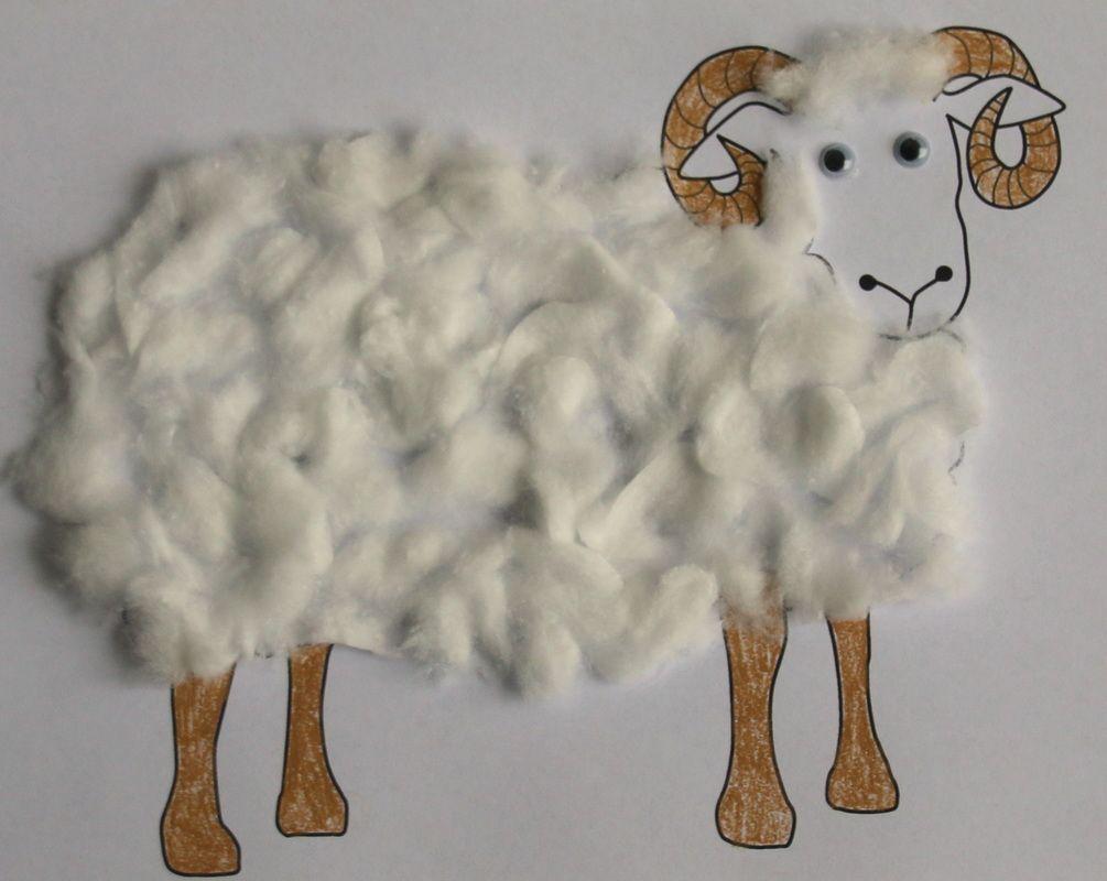 Wooly Sheep Craft For Kids Sheep Crafts Christian Kids Crafts Children S Church Crafts