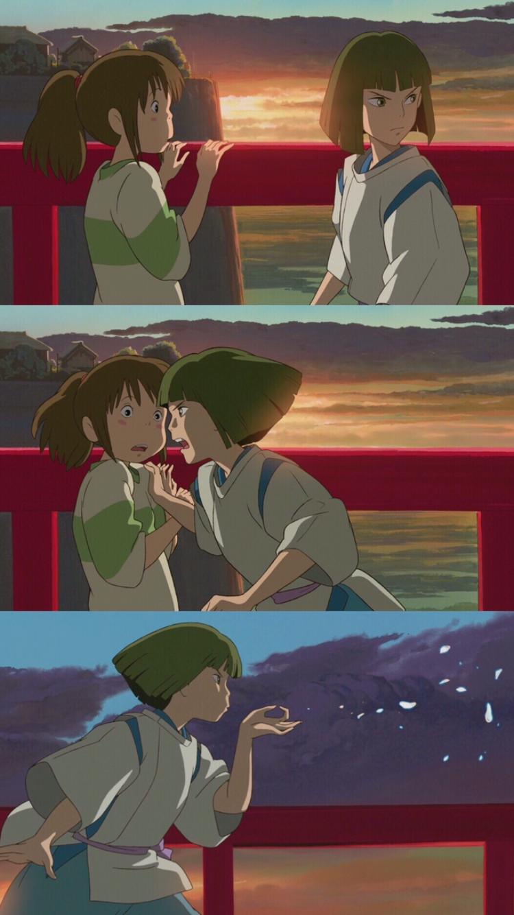 센과 치히로의 행방불명 壁紙 かわいい アニメ 背景 スタジオジブリ