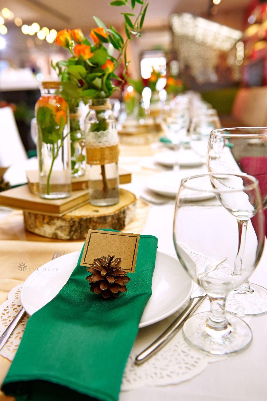 Ocean blue linen table runner Rustic wedding table runner Natural linen table decor Softened linen table runner Kitchen table runner