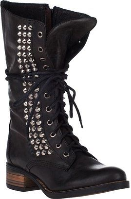 6372e7fc732 ShopStyle: STEVE MADDEN SHOES Tropador Tall Boot Black Leather As ...