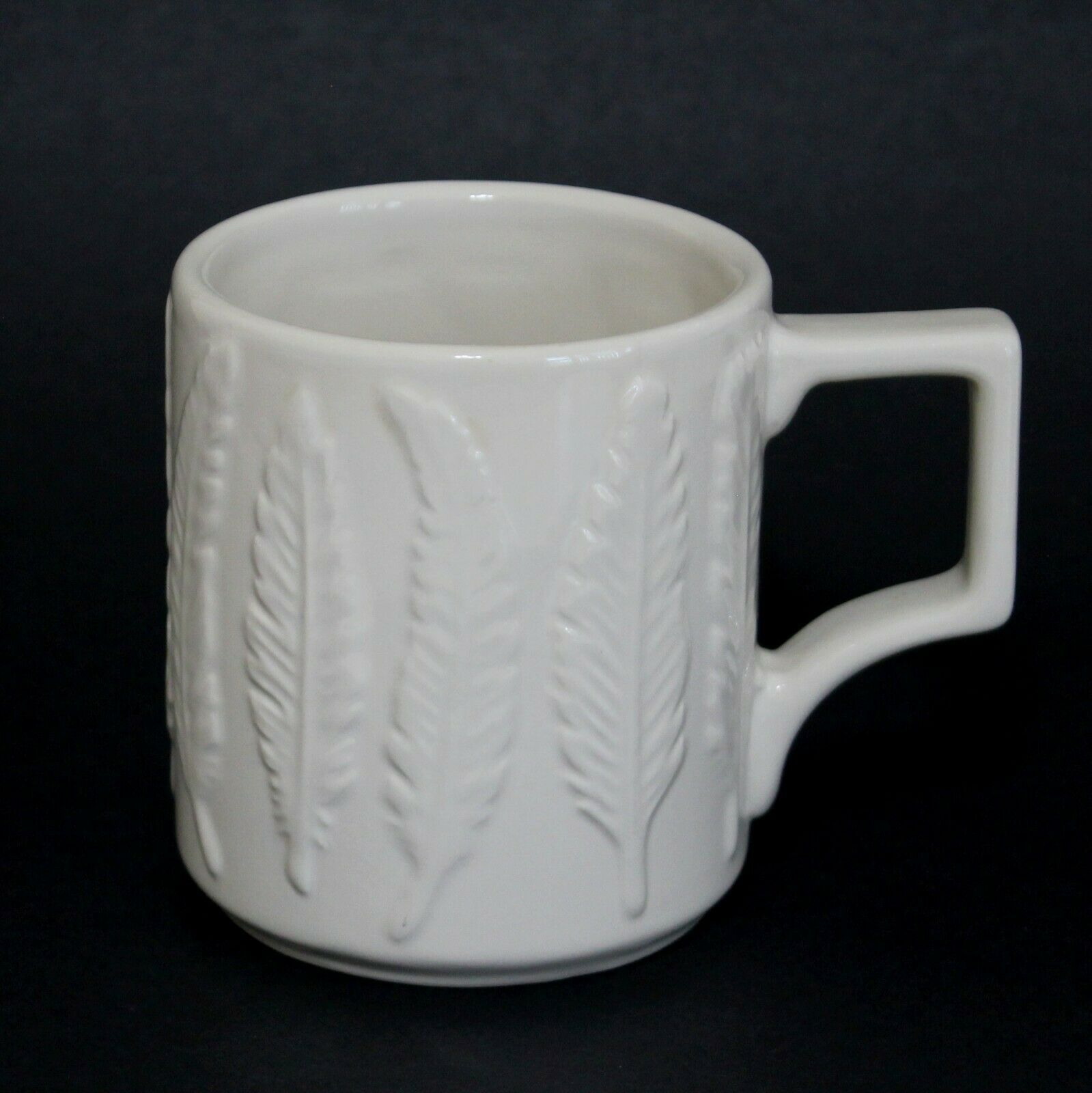 Patch NYC for Target Ceramic Feather Mug Cup 12 oz eBay
