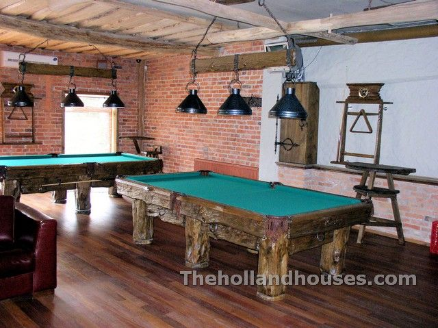 Attrayant Rustic Pool Table Light Fixtures