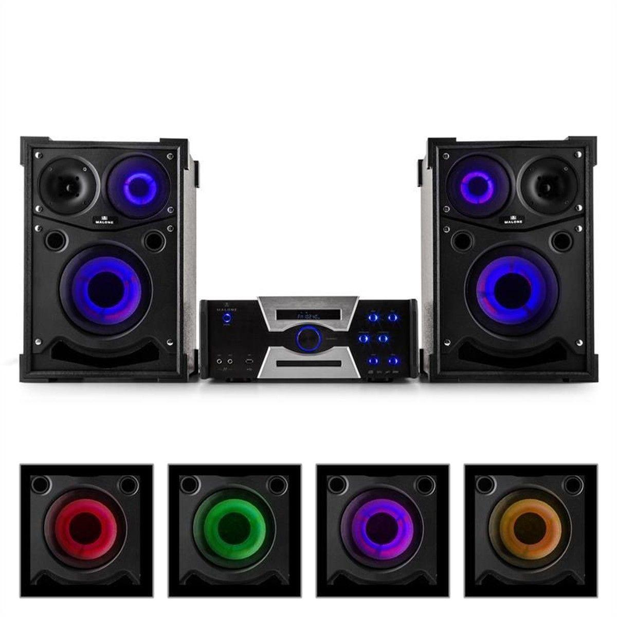 Hotrod 4000 Système Audio Pour Soirées Festives Paire