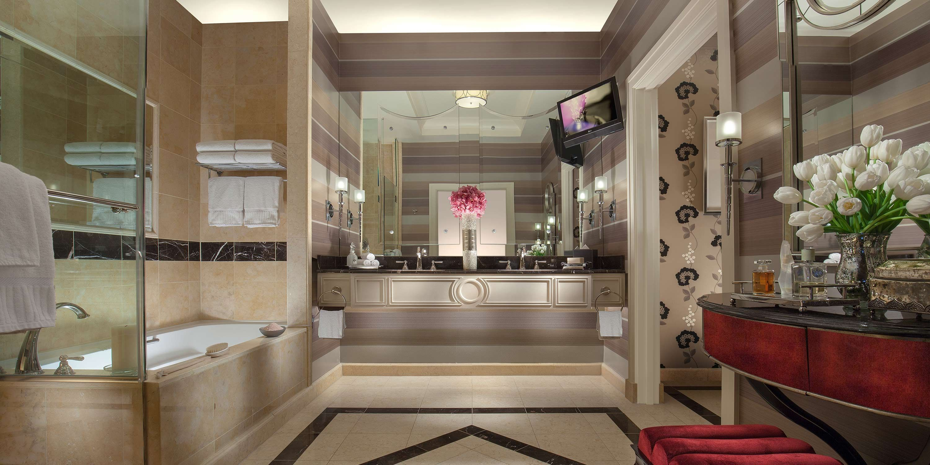 Palazzo Bella Suite Bathroom Pretty Palette Inspiration Pinterest Room
