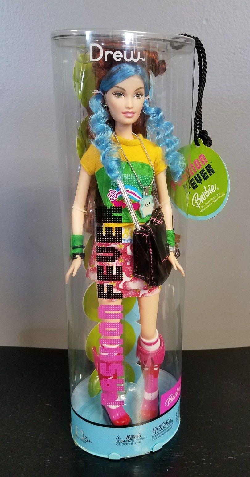 Barbie Fashion Fever Tokyo Pop DREW doll Mattel 2004 New