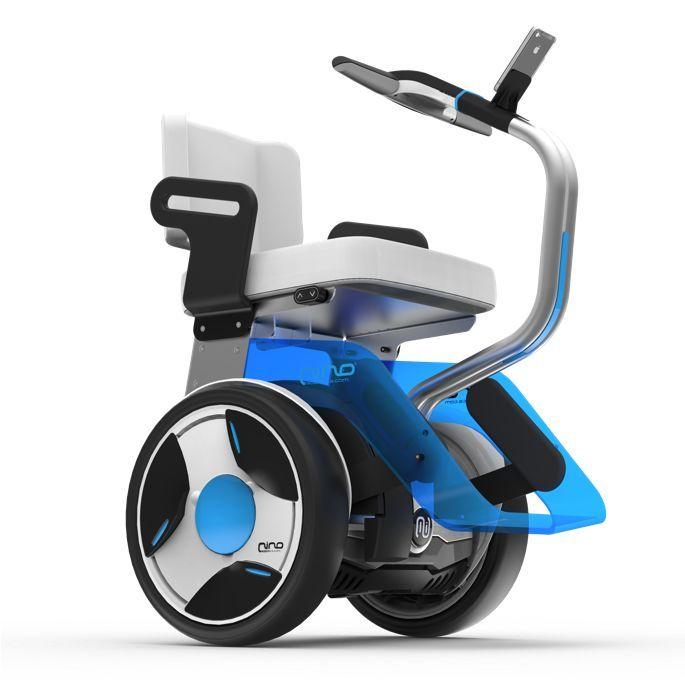 Gyropode Nino De Nino Robotics Un Fauteuil Roulant Electrique Dote De 2 Roues Comfort Bicycle Wheelchair Wheelchairs Design