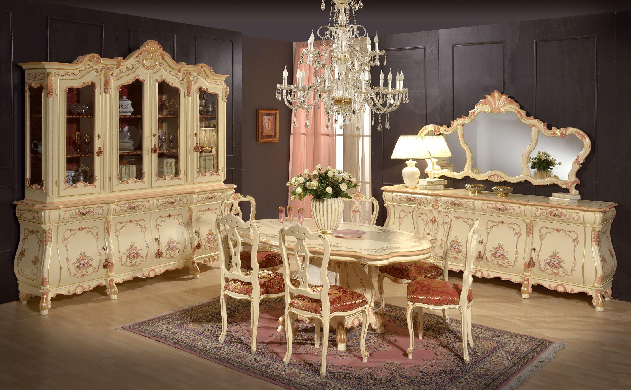 Arredamento Barocco ~ Sala da pranzo stile veneziano stile barocco veneziano room