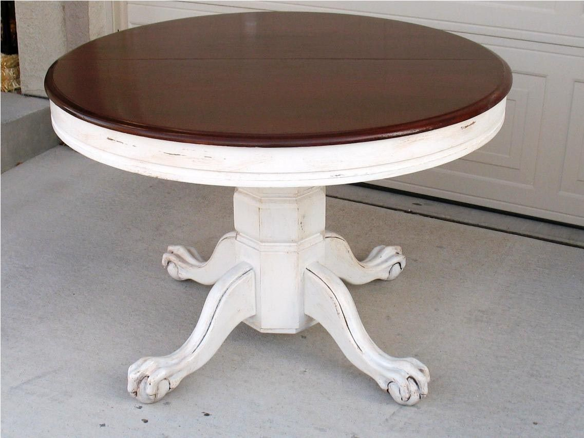 Distressed round coffee table coffee table design ideas