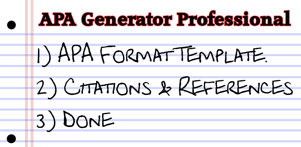 generate in text citations and references for your apa format essays