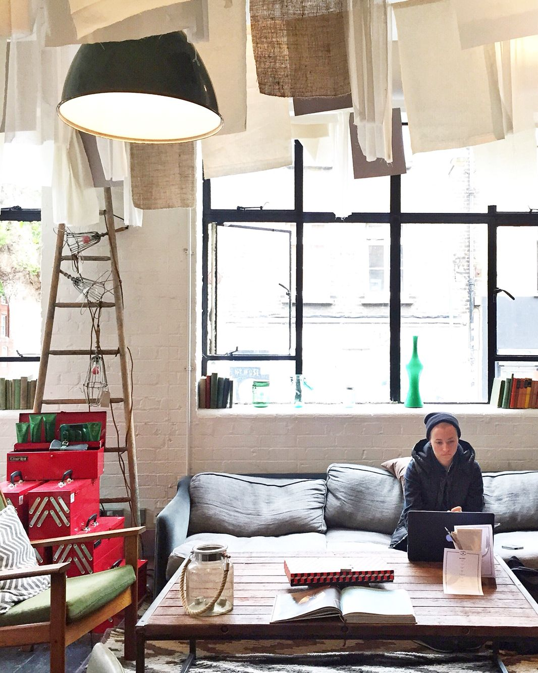 Hang Out In Super Trendy Shoreditch At Barber Parlour A Cafe Restaurant Bar Living Room Clothing Store Shop Beauty Salon And Cinema Wrapped