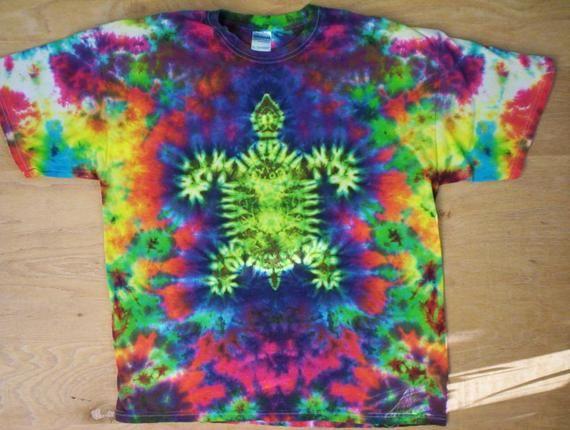 Tie Dye Happy Turtle Size Xl Tie Dye Crafts Sharpie Tie Dye